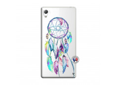 Coque Sony Xperia Z3 Blue Painted Dreamcatcher