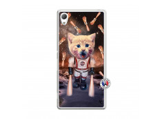 Coque Sony Xperia Z3 Cat Nasa Translu