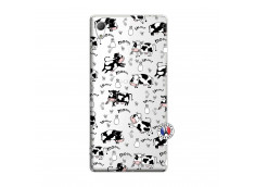 Coque Sony Xperia Z3 Cow Pattern