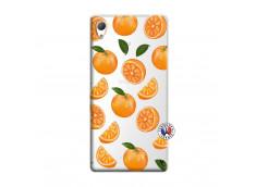 Coque Sony Xperia Z3 Orange Gina