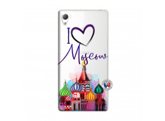 Coque Sony Xperia Z3 I Love Moscow