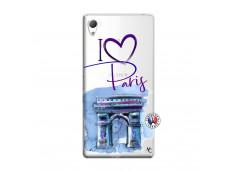 Coque Sony Xperia Z3 I Love Paris Arc Triomphe