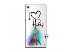 Coque Sony Xperia Z3 I Love Paris