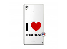 Coque Sony Xperia Z3 I Love Toulouse