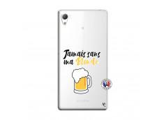 Coque Sony Xperia Z3 Jamais Sans Ma Blonde