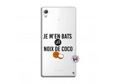 Coque Sony Xperia Z3 Je m'en bats Les Noix De Coco