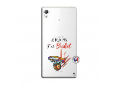 Coque Sony Xperia Z3 Je Peux Pas J Ai Basket