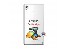 Coque Sony Xperia Z3 Je Peux Pas J Ai Bricolage