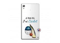Coque Sony Xperia Z3 Je peux pas j'ai cricket