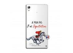 Coque Sony Xperia Z3 Je Peux Pas J Ai Equitation