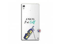 Coque Sony Xperia Z3 Je Peux Pas J Ai Golf