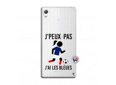 Coque Sony Xperia Z3 Je Peux Pas J Ai Les Bleues Maillot