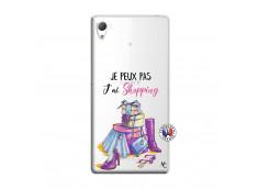 Coque Sony Xperia Z3 Je Peux Pas J Ai Shopping