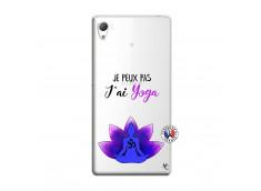 Coque Sony Xperia Z3 Je Peux Pas J Ai Yoga
