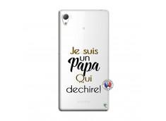 Coque Sony Xperia Z3 Je Suis Un Papa Qui Dechire