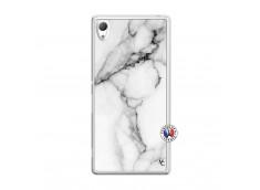 Coque Sony Xperia Z3 White Marble Translu