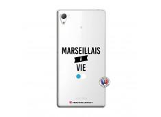 Coque Sony Xperia Z3 Marseillais à Vie