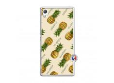 Coque Sony Xperia Z3 Sorbet Ananas Translu