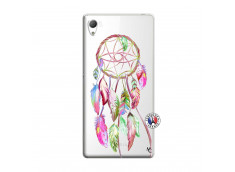 Coque Sony Xperia Z3 Pink Painted Dreamcatcher