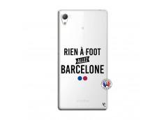 Coque Sony Xperia Z3 Rien A Foot Allez Barcelone