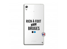 Coque Sony Xperia Z3 Rien A Foot Allez Bruges