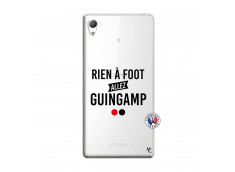 Coque Sony Xperia Z3 Rien A Foot Allez Guingamp