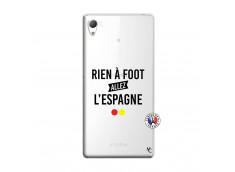 Coque Sony Xperia Z3 Rien A Foot Allez L'Espagne