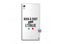 Coque Sony Xperia Z3 Rien A Foot Allez L'Italie