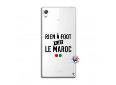Coque Sony Xperia Z3 Rien A Foot Allez Le Maroc