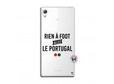 Coque Sony Xperia Z3 Rien A Foot Allez Le Portugal