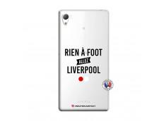 Coque Sony Xperia Z3 Rien A Foot Allez Liverpool