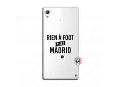 Coque Sony Xperia Z3 Rien A Foot Allez Madrid