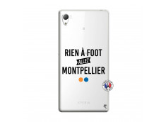 Coque Sony Xperia Z3 Rien A Foot Allez Montpellier
