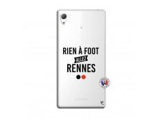 Coque Sony Xperia Z3 Rien A Foot Allez Rennes