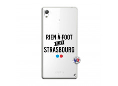 Coque Sony Xperia Z3 Rien A Foot Allez Strasbourg