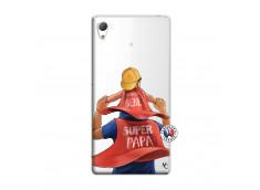 Coque Sony Xperia Z3 Super Papa et Super Bébé