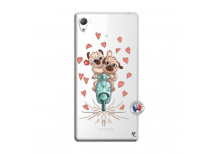 Coque Sony Xperia Z3 Puppies Love