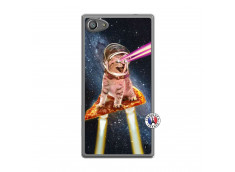 Coque Sony Xperia Z5 Compact Cat Pizza Translu