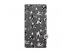 Coque Sony Xperia Z5 Compact Cow Pattern