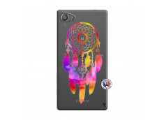 Coque Sony Xperia Z5 Compact Dreamcatcher Rainbow Feathers