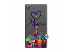 Coque Sony Xperia Z5 Compact I Love Moscow