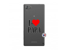 Coque Sony Xperia Z5 Compact I Love Papa