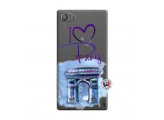 Coque Sony Xperia Z5 Compact I Love Paris Arc Triomphe