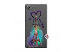 Coque Sony Xperia Z5 Compact I Love Paris