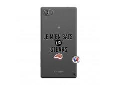 Coque Sony Xperia Z5 Compact Je M En Bas Les Steaks