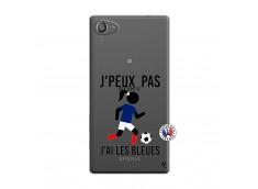 Coque Sony Xperia Z5 Compact Je Peux Pas J Ai Les Bleues