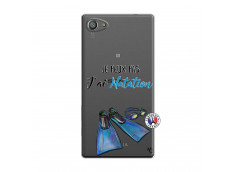 Coque Sony Xperia Z5 Compact Je Peux Pas J Ai Natation