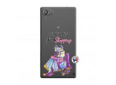 Coque Sony Xperia Z5 Compact Je Peux Pas J Ai Shopping