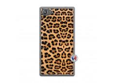 Coque Sony Xperia Z5 Compact Leopard Style Translu
