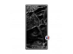 Coque Sony Xperia Z5 Compact Black Marble Translu